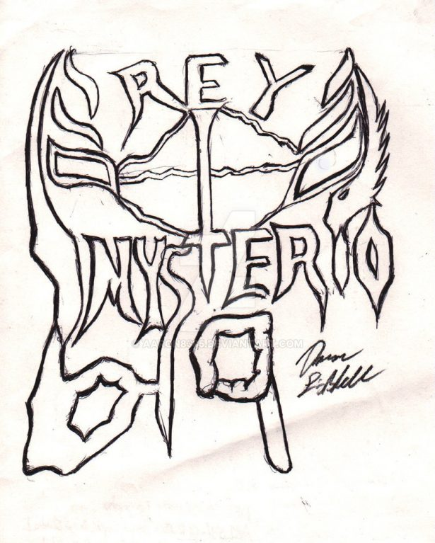 Wwe coloring pages free download best wwe coloring pages for Rey mysterio mask coloring pages