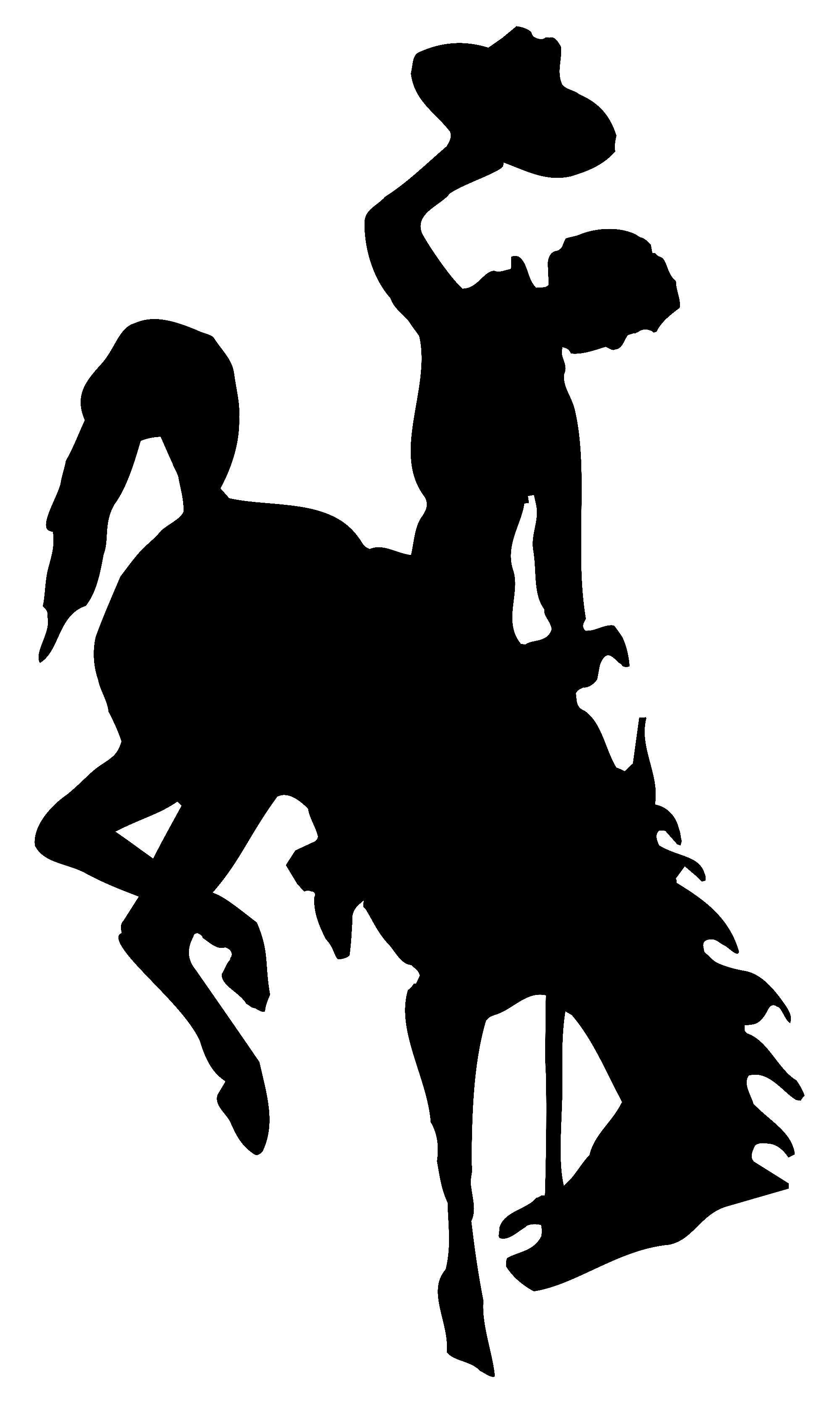 2000x3333 Wyoming Cowboys Stencils Printable Stencils, Stenciling And Craft