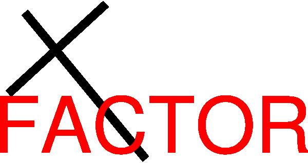 600x318 X Factor Clip Art