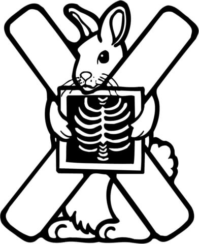 392x480 Letter X Is For X Ray Coloring Page Free Printable Coloring Pages