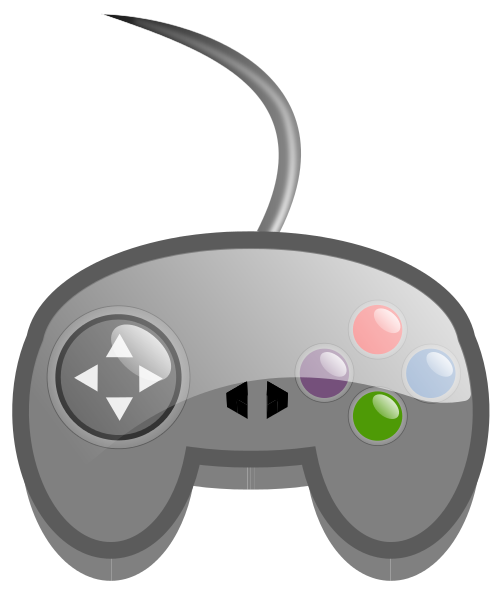 498x600 Free Game Controller Clipart, 1 Page Of Public Domain Clip Art