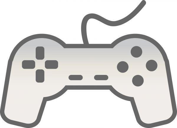 600x434 Game Controller Clip Art