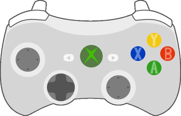 600x387 Xbox Controller Clip Art