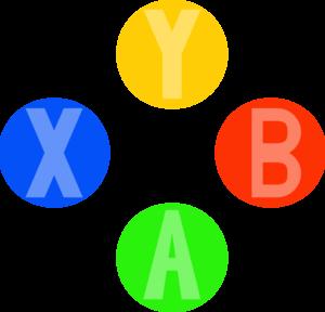 300x288 Xbox Controller Light Buttons Clip Art