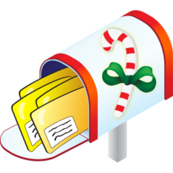 600x600 Cards Clipart Mailbox