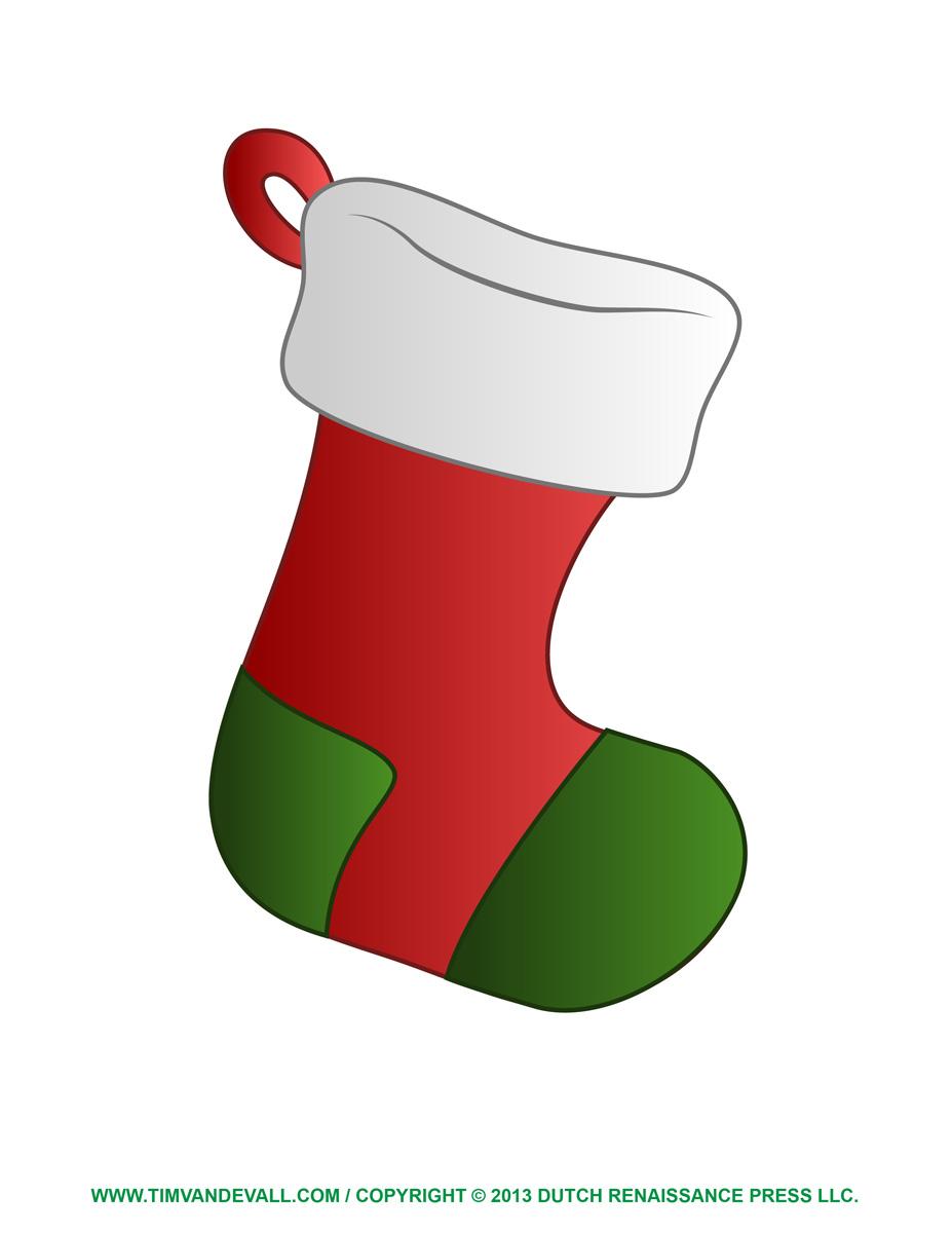 927x1200 Christmas Stocking Clip Art Happy Holidays Image