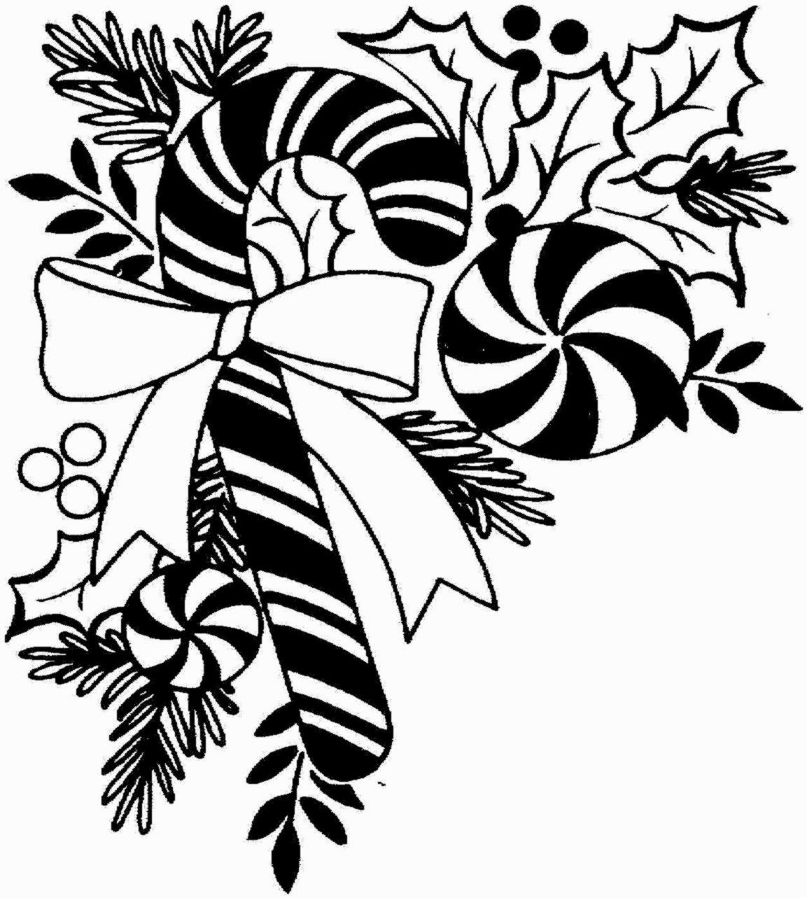 1153x1283 Free Christmas Clip Art Black And White