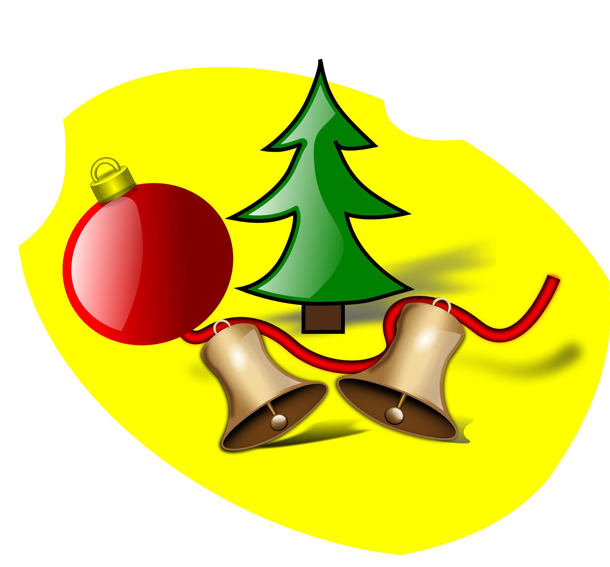1969x1831 Bell Clipart Cartoon Christmas