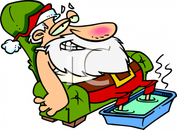 350x258 Funny Christmas Cliparts