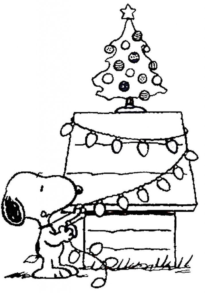 Xmas Coloring Pages | Free download on ClipArtMag