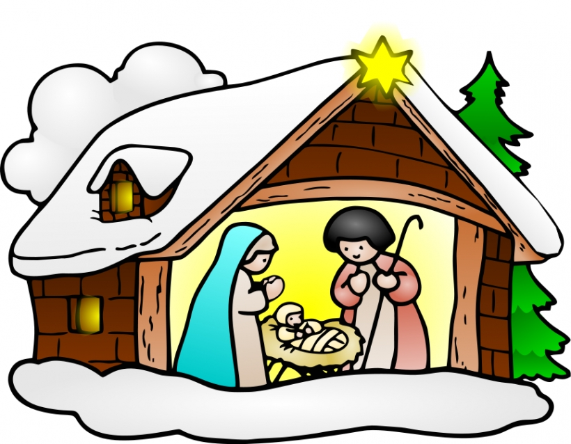 820x638 Christmas Religious Clip Art Free Many Interesting Cliparts