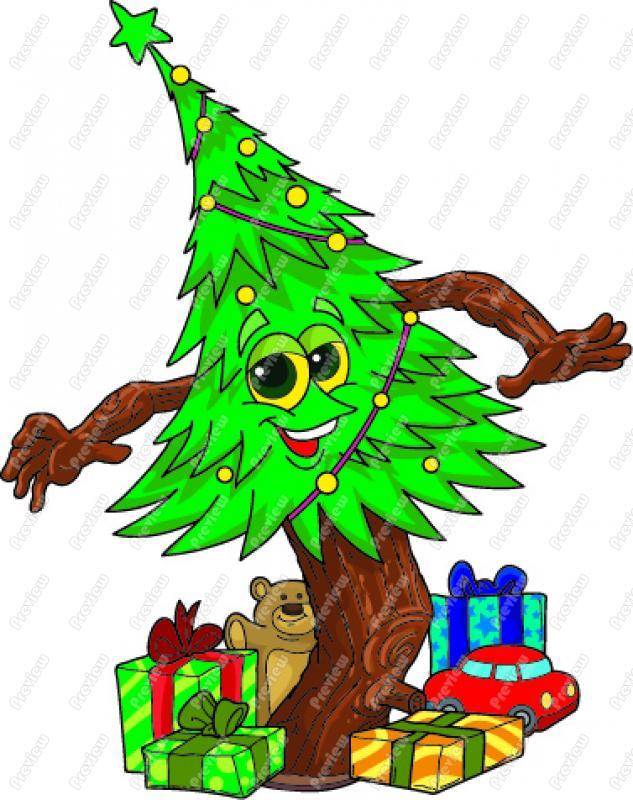 633x800 Xmas Tree Clip Art