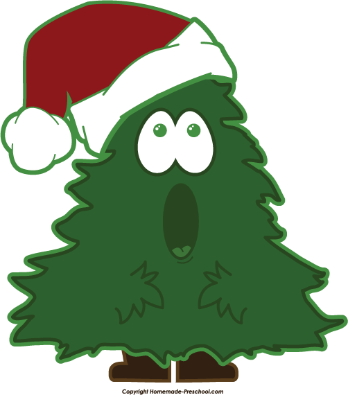 502x570 Free Christmas Tree Clipart