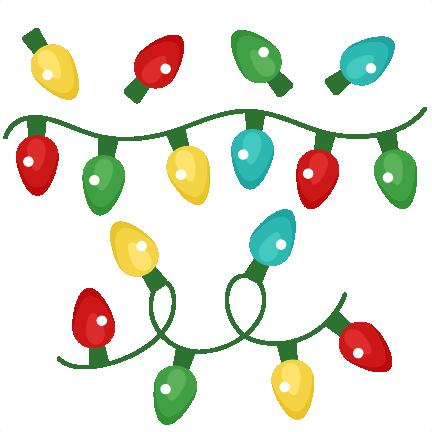 432x432 Christmas Lights Clip Art 2
