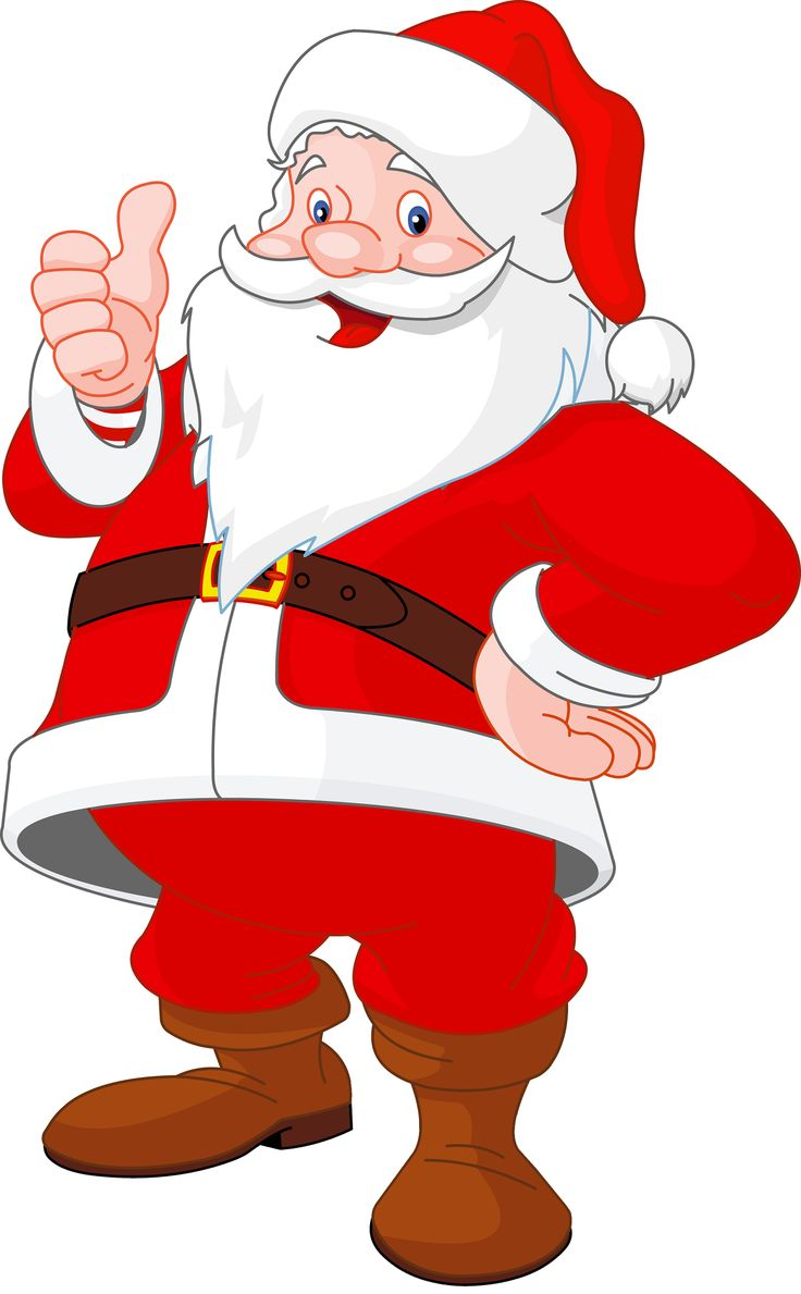 736x1189 Father Xmas Clipart