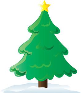 263x300 Christmas Tree Clip Art Free
