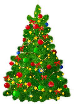 238x340 Free Animated Christmas Trees