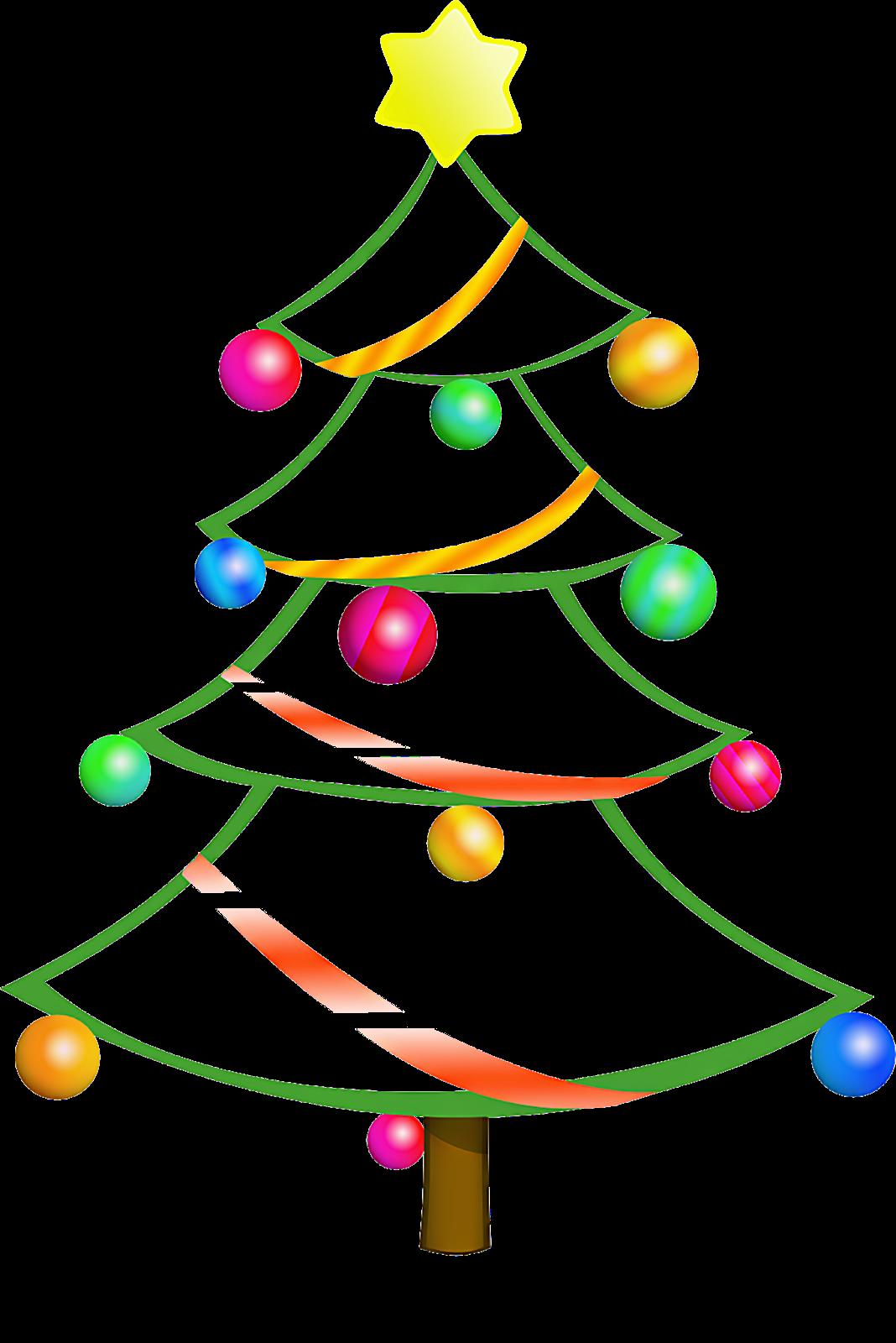 1068x1600 Ribbon Christmas Tree Clip Art