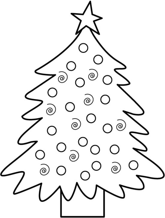 550x726 Christmas Tree Coloring Sheets 2018 Dr. Odd