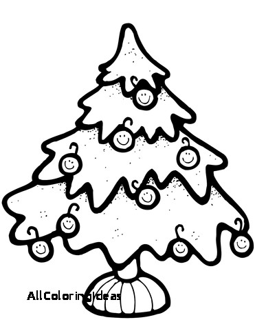371x480 Update Christmas Tree Coloring Pages