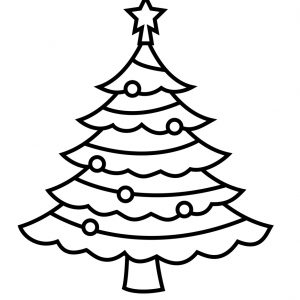300x300 Adult Printable Pictures Of Christmas Trees Printable Coloring