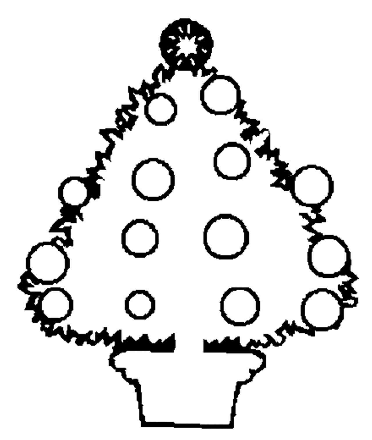 1280x1514 Blank Christmas Tree Coloring Page Cheminee.website
