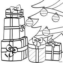220x220 Christmas Tree Coloring Pages