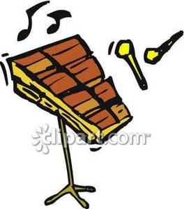 Xylophone Clipart
