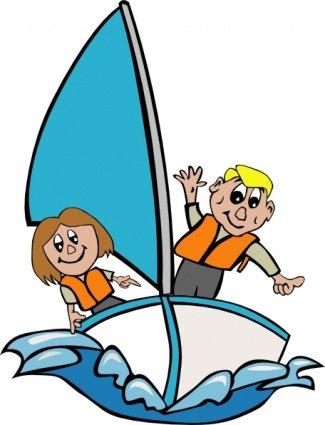 325x425 Yacht Sailing Clip Art, Vector Yacht Sailing