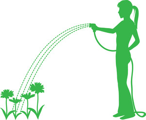 300x248 Clipart Of Yard Sprinklers