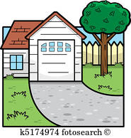 185x194 Front Yard Clipart Eps Images. 842 Front Yard Clip Art Vector