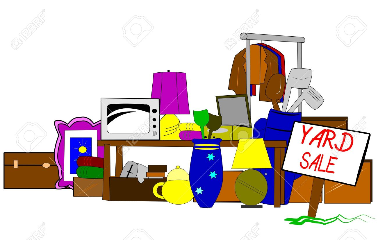 1300x826 Products Clipart Garage Sale
