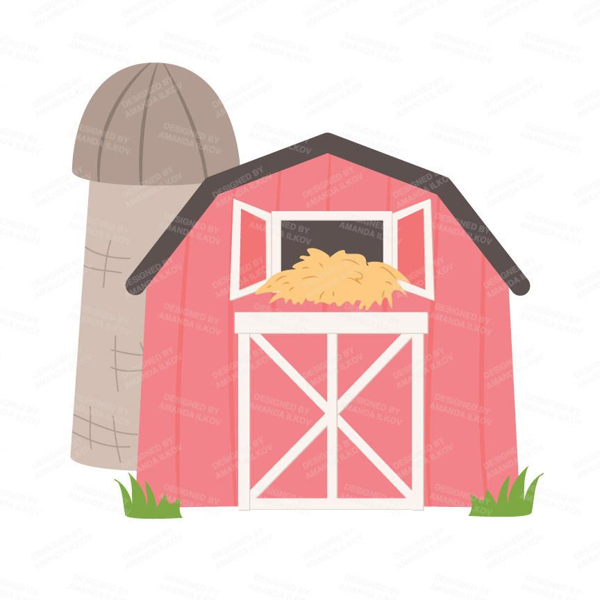864x864 Top 74 Barn Clip Art