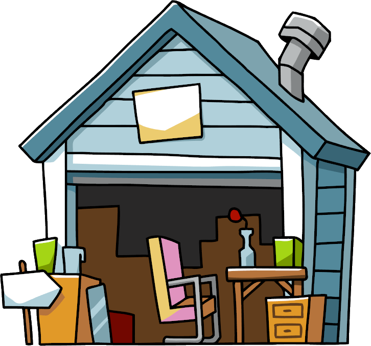 726x678 Garage Sale Scribblenauts Wiki Fandom Powered By Wikia