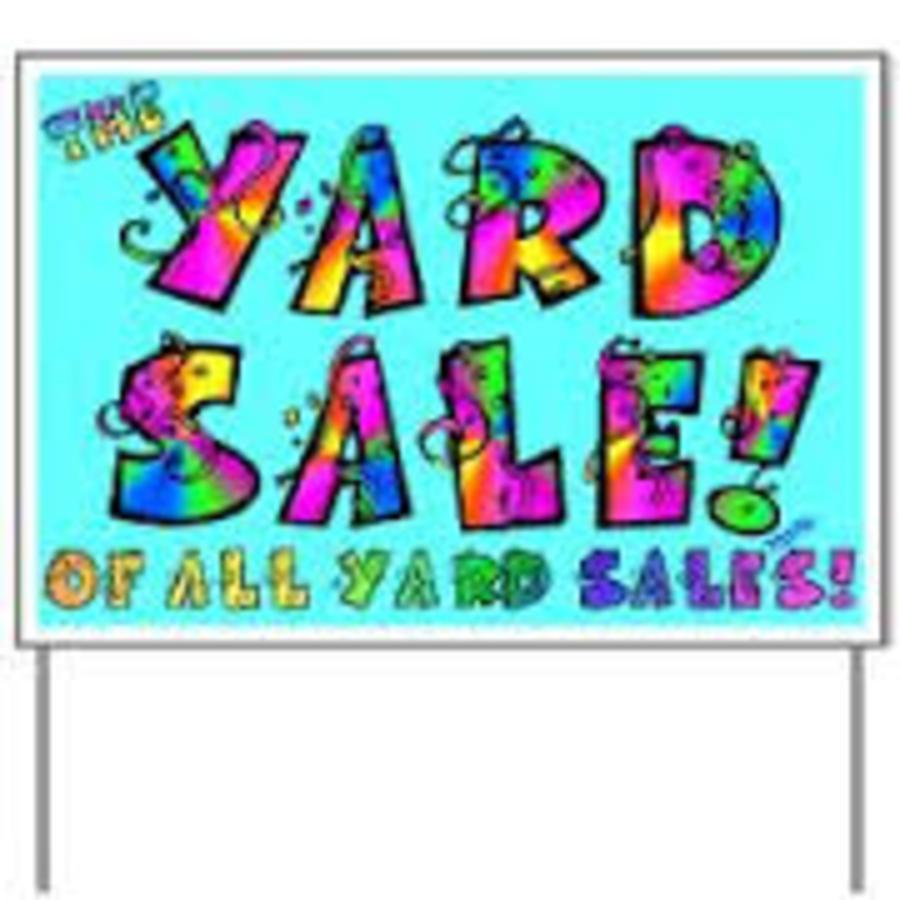 900x900 Multi family yard sale clip art clipart