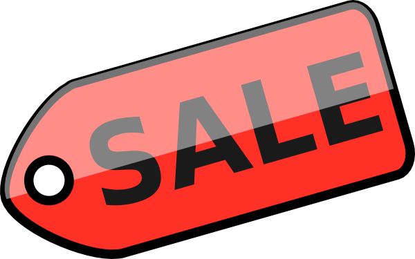 600x375 Yard Sale Sign Clipart
