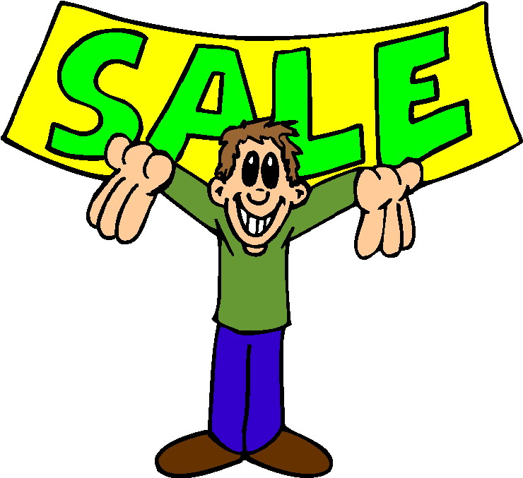 740x677 Yard Sale Sign Clipart