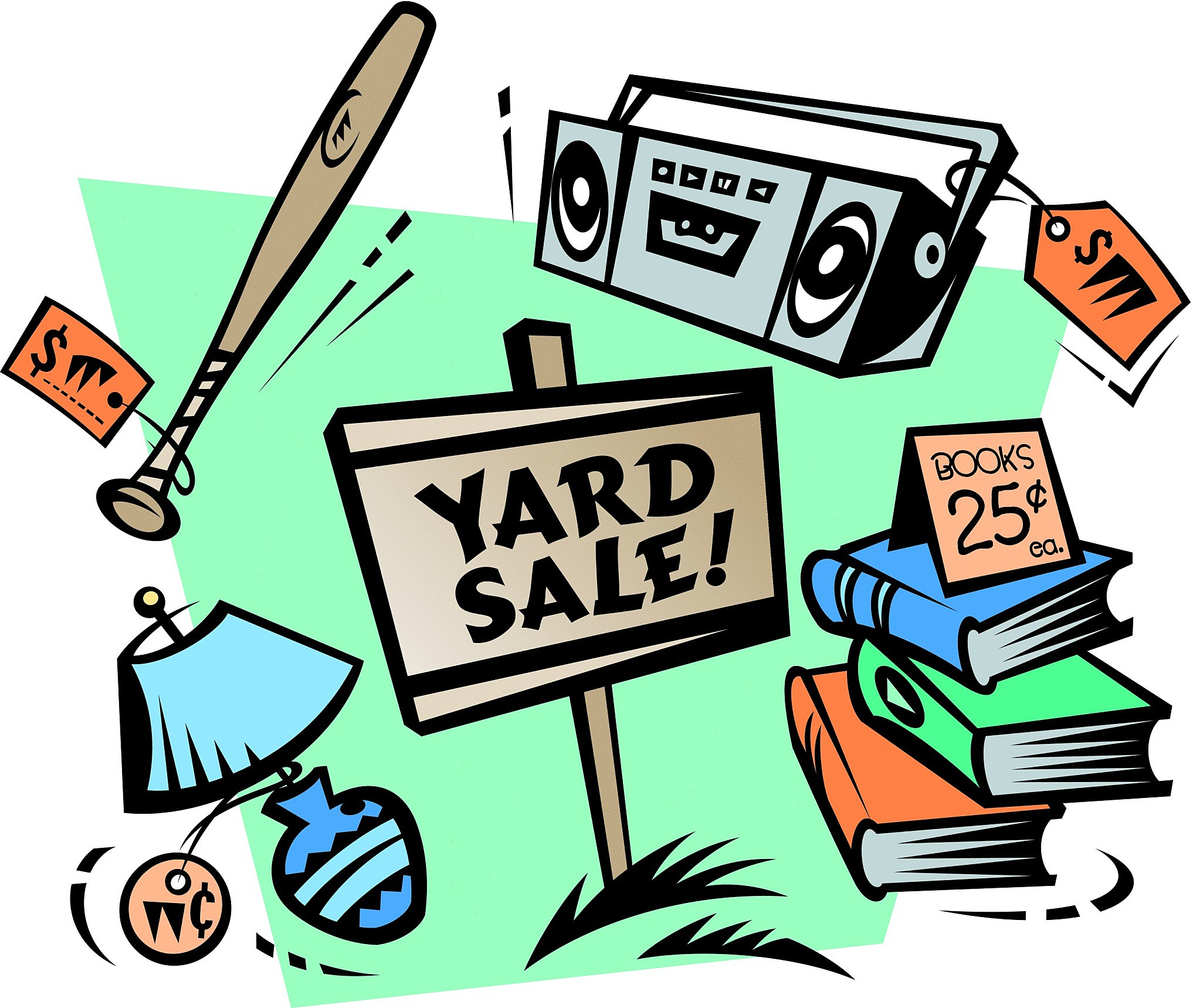 2034x1718 Yard Sales! Tips To Make Yours Awesome!