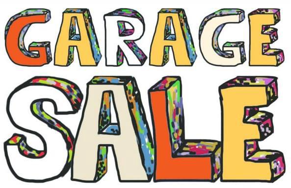 593x382 Garage Sale Graphic Sage Lake Association