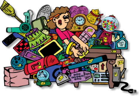 464x321 Garage Sale Clipart Collection
