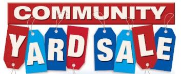 353x145 Community Yard Sale Del Sur Educational Foundation