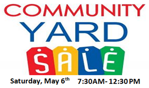 500x297 3rd Annual Community Yard Sale