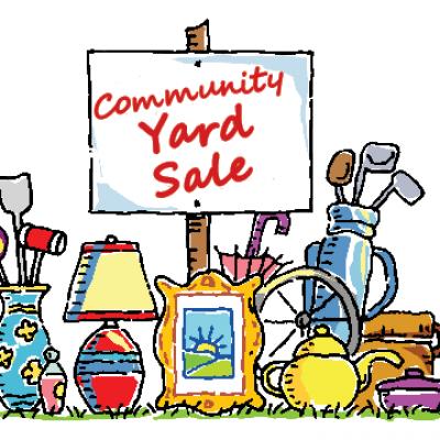 400x400 Community Yard Sale