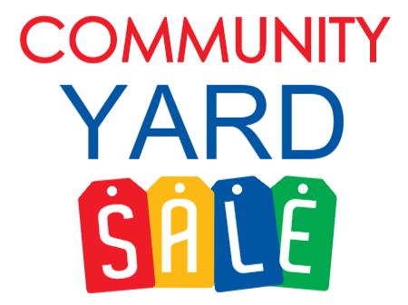 450x337 Blackville Community Yard Sale