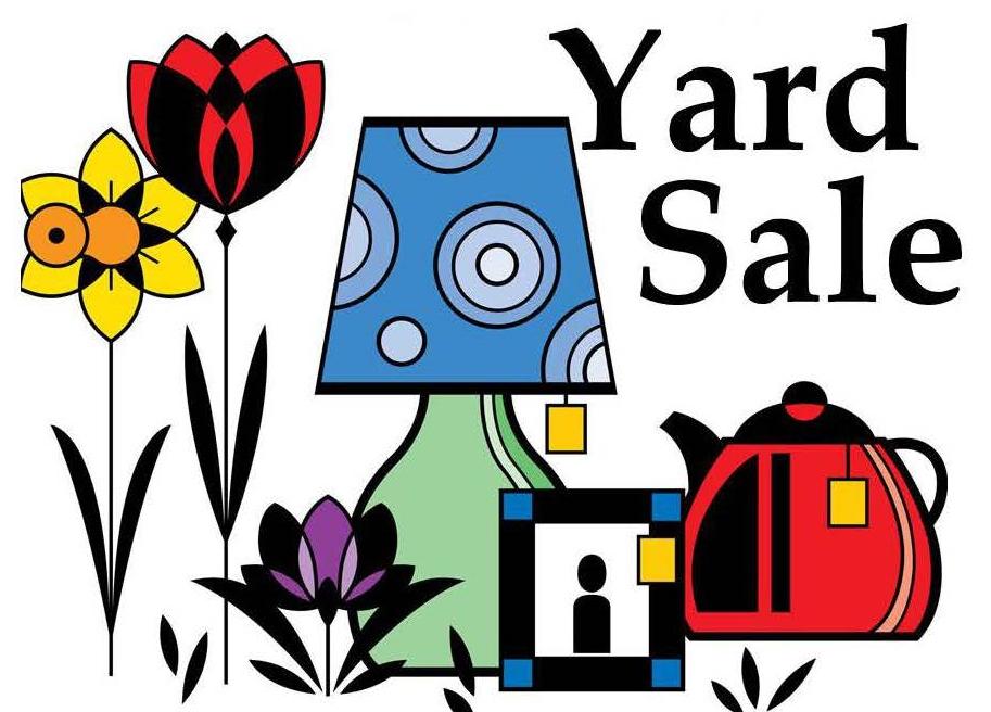 913x656 Neighborhood Yard Sale April 23