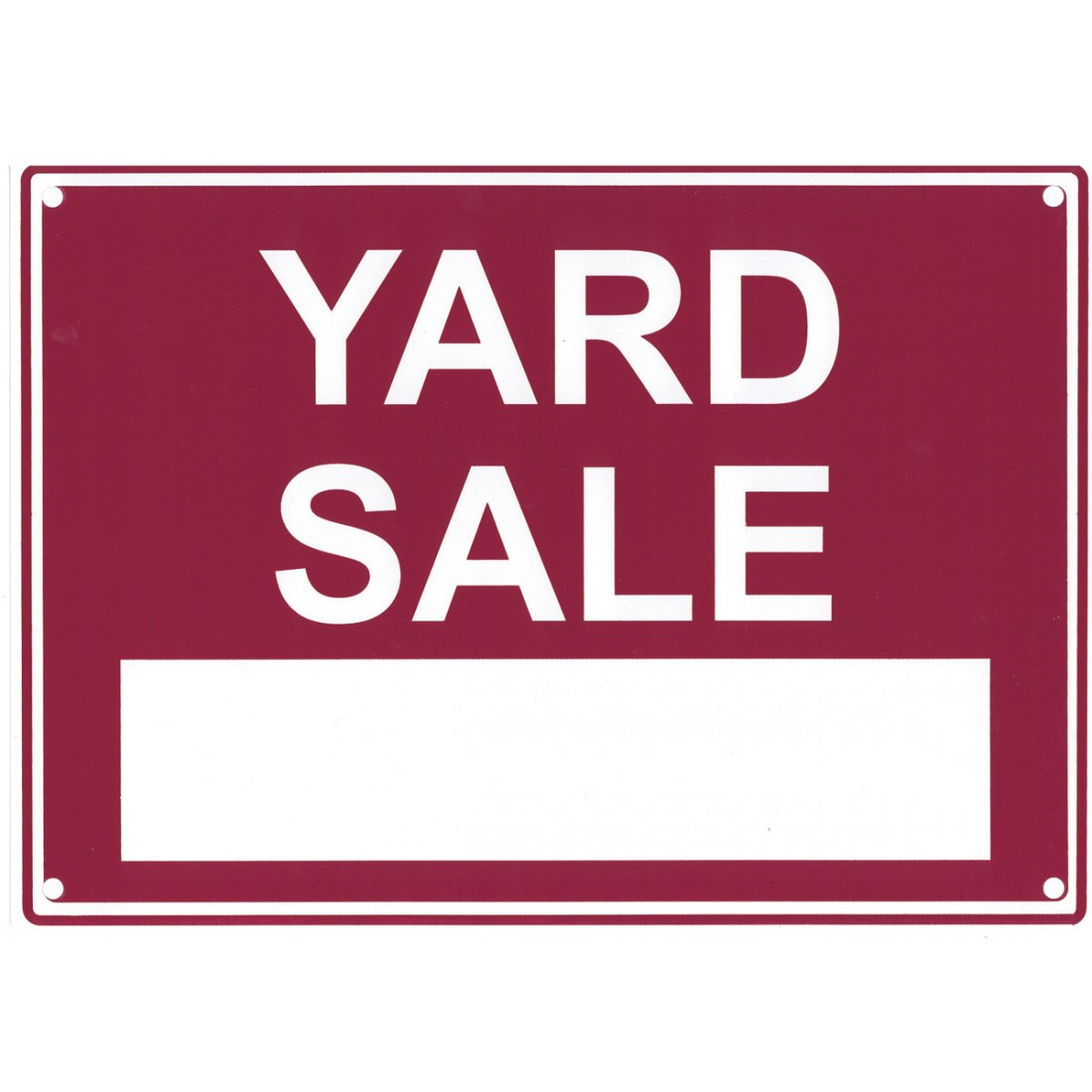 1100x1100 Yard Sale Sign 9946 Additional Products Sas Safety Corp