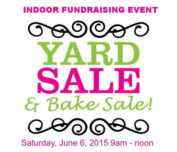 612x528 Yard Sale Amp Bake Sale Fundraiser
