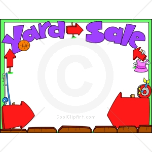 300x300 Garage Sale Borders Clipart Cliparthut