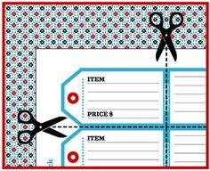 236x192 Garage Sale Printables Free Printables, Organizing And Yard Sale