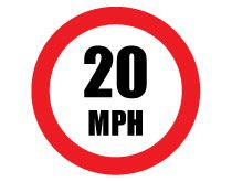 210x165 Speed Limit Signs